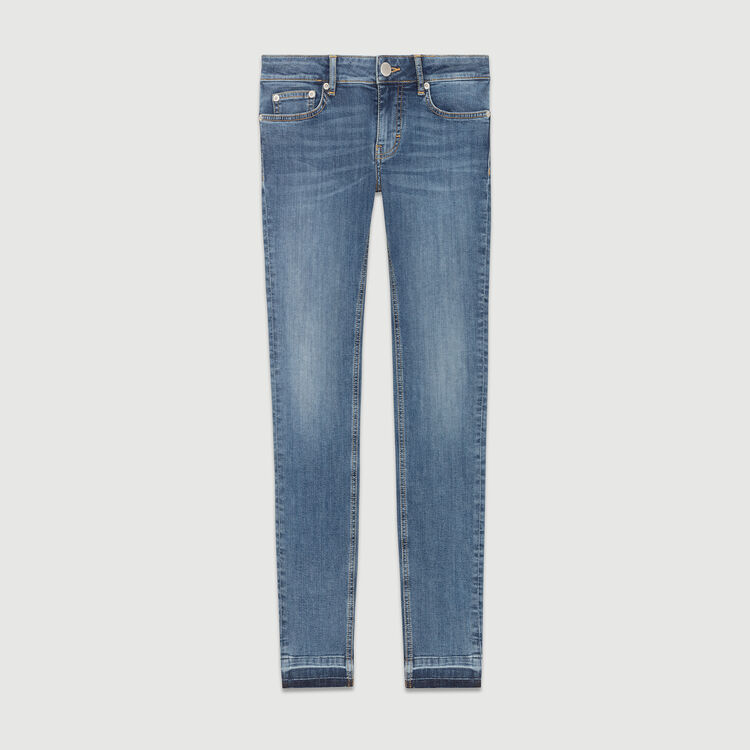 Faded skinny jeans : Pants & Jeans color Denim