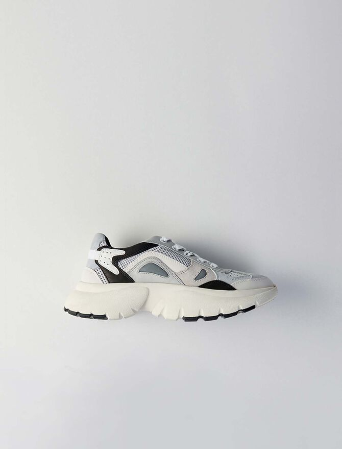 W20 leather city sneakers - Sneakers - MAJE
