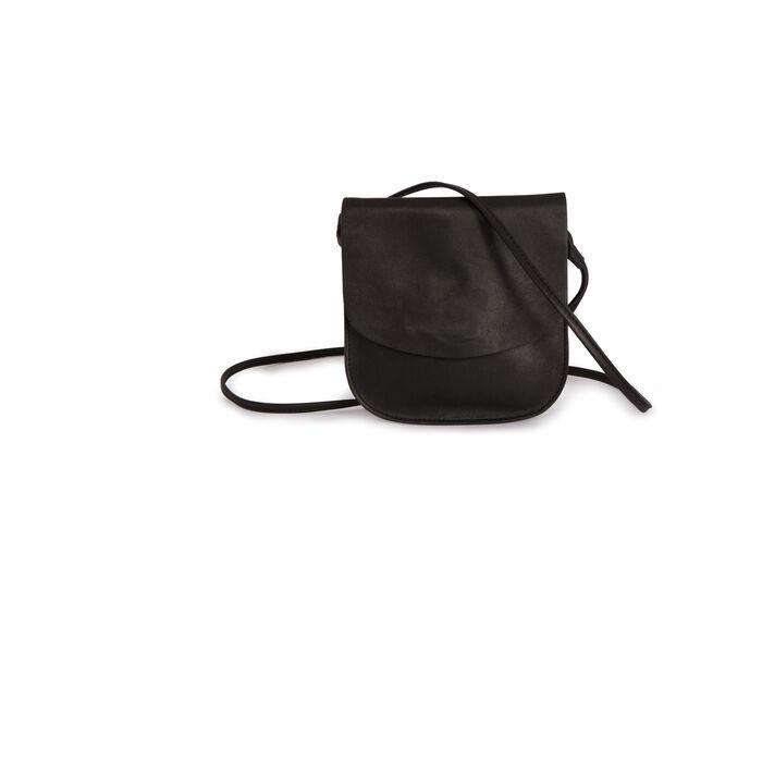Leather shoulder bag : null color