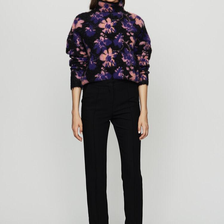 Straight suit pants : Pants & Jeans color Black 210