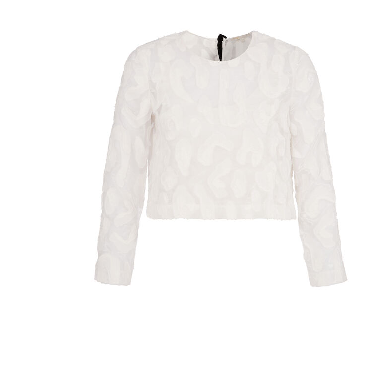Two-in-one embroidered top : Copy of Sale color
