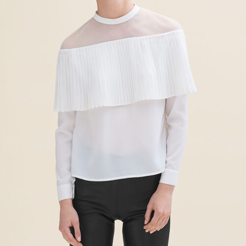 Off-the-shoulder top - Tops & T-Shirts - MAJE