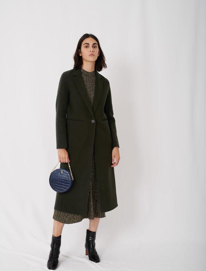Long double face coat - Coats & Jackets - MAJE