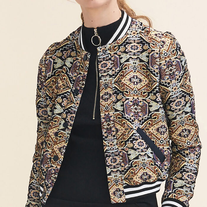 Jacquard jacket : null color