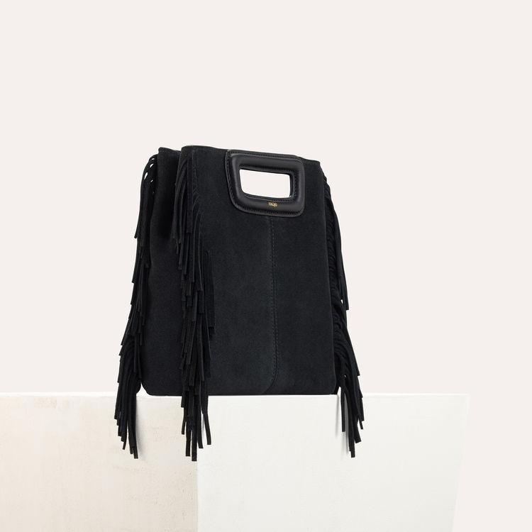 Suede M bag : Pre-collection color Black 210