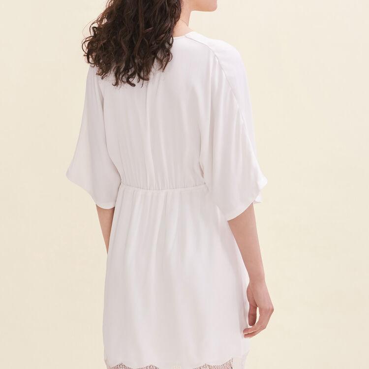 Floaty crêpe dress - Dresses - MAJE