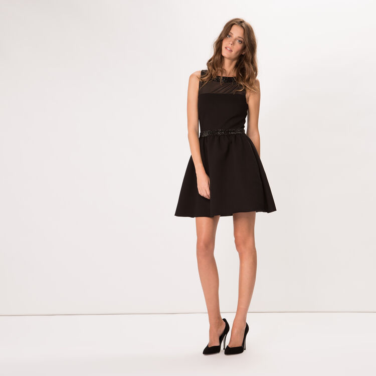 Crepe puffball dress : Must Have color