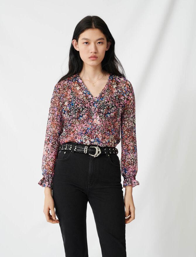 Mom-style high-waisted straight jeans - Pants & Jeans - MAJE