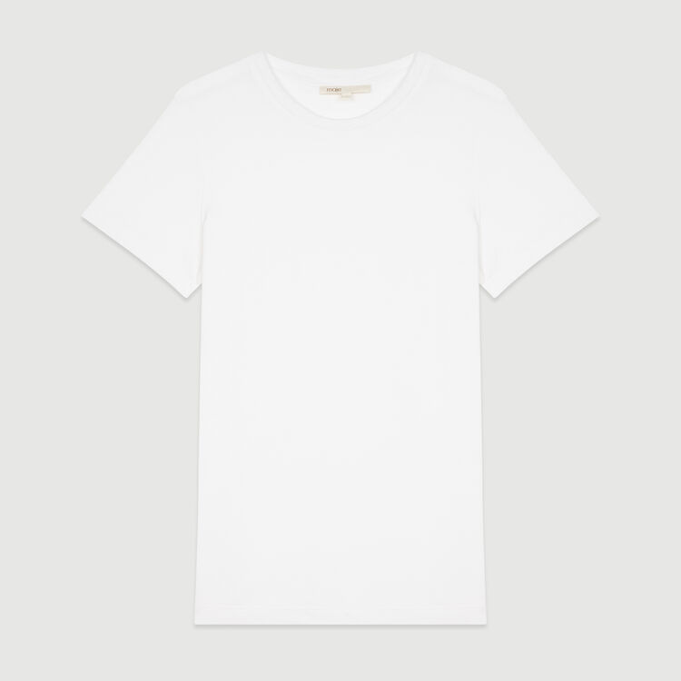 Short sleeve T-shirt : Tops & T-Shirts color WHITE