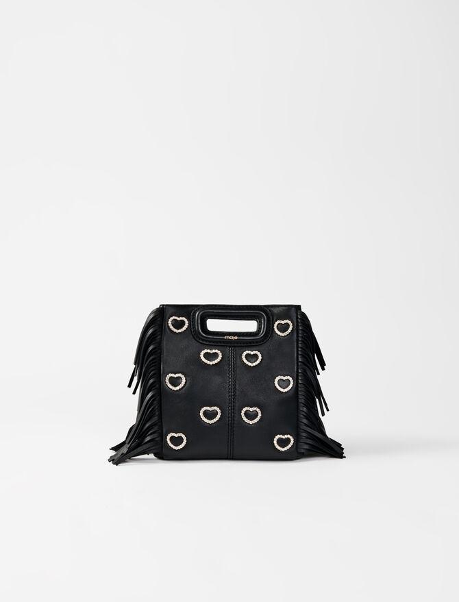 M mini bag leather and rhinestone - Bags - MAJE