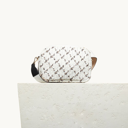 Round bag with braiding - Shoes & Accessories - MAJE
