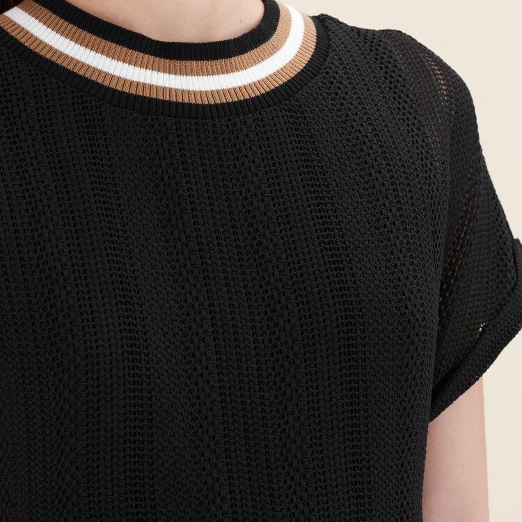 Fine knit jumpsuit : null color
