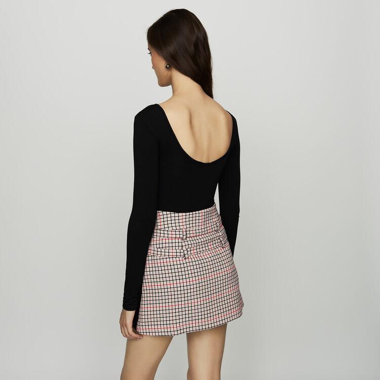 Long sleeve bodysuit in jersey : Sweaters color
