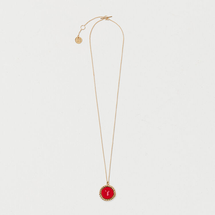 Number 7 medallion : Jewelry color GOLD