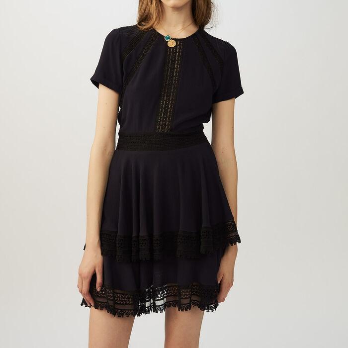 RAGLIA Flounced lace dress - Dresses