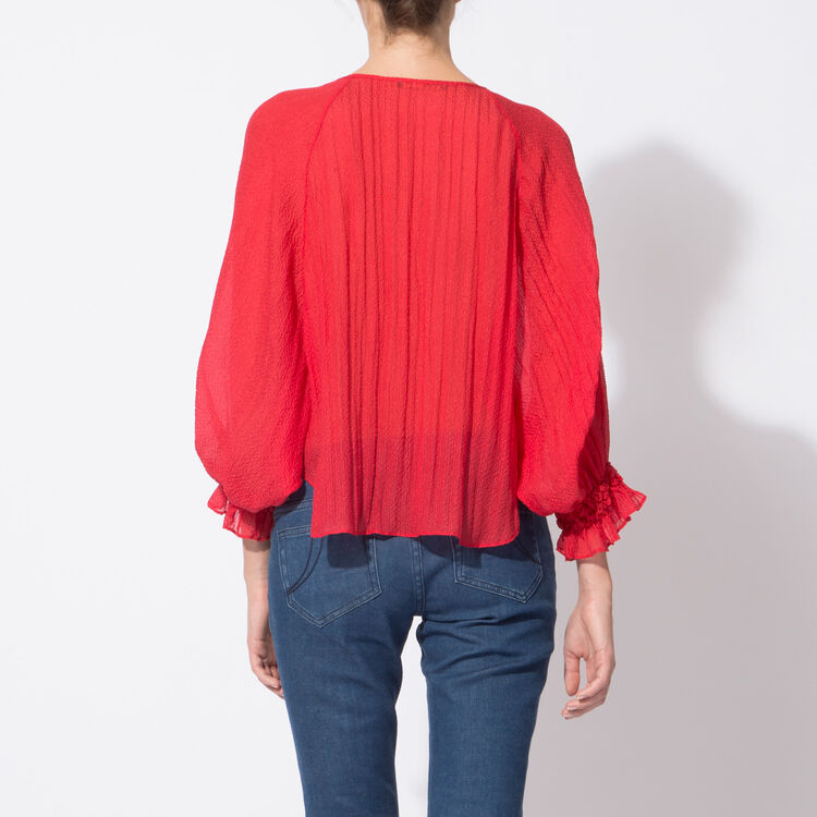 Oversize silk blouse : Spring Summer Precollection color