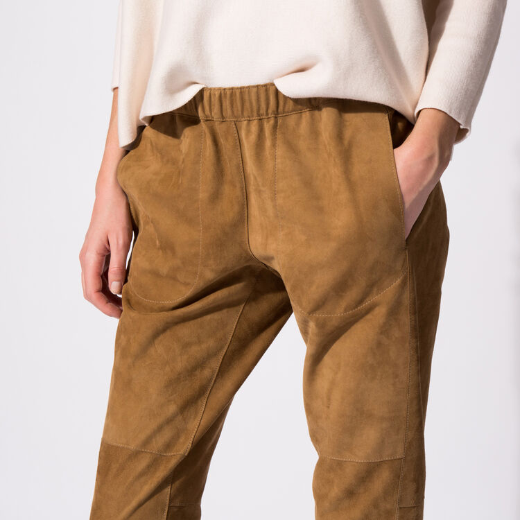 Reversible leather trousers : Copy of Sale color