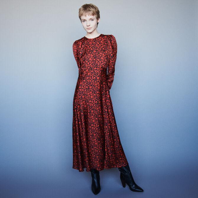 PRINTED DRESS - Dresses - MAJE