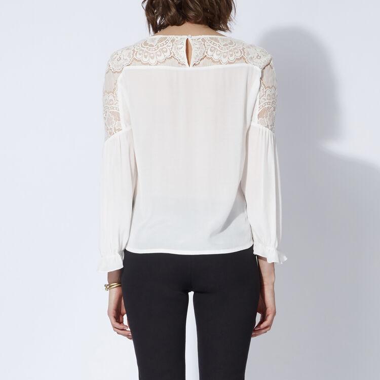 Floaty lace top : Copy of Sale color