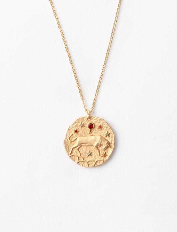 마쥬 MAJE Taurus zodiac sign necklace,Gold