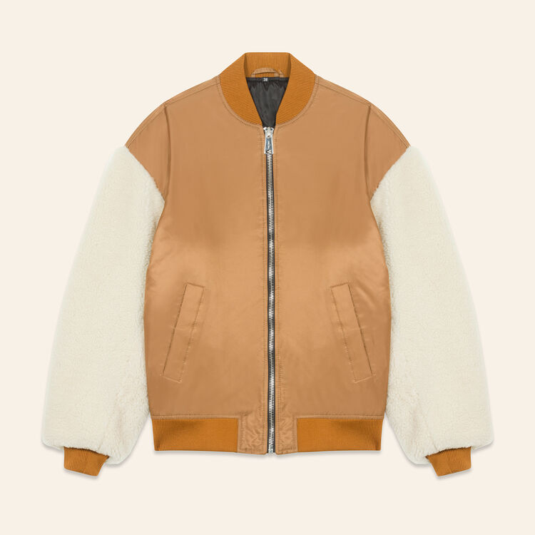 Sheepskin jacket : null color