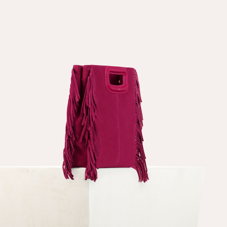 Suede M bag : Shoes & Accessories color Raspberry