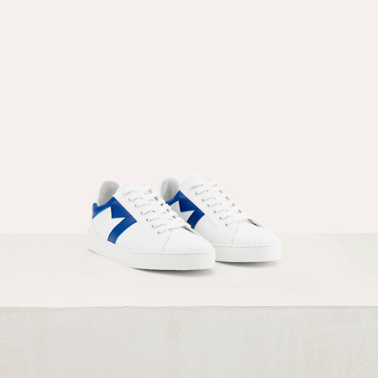Sneakers with M insert : Shoes color Blue