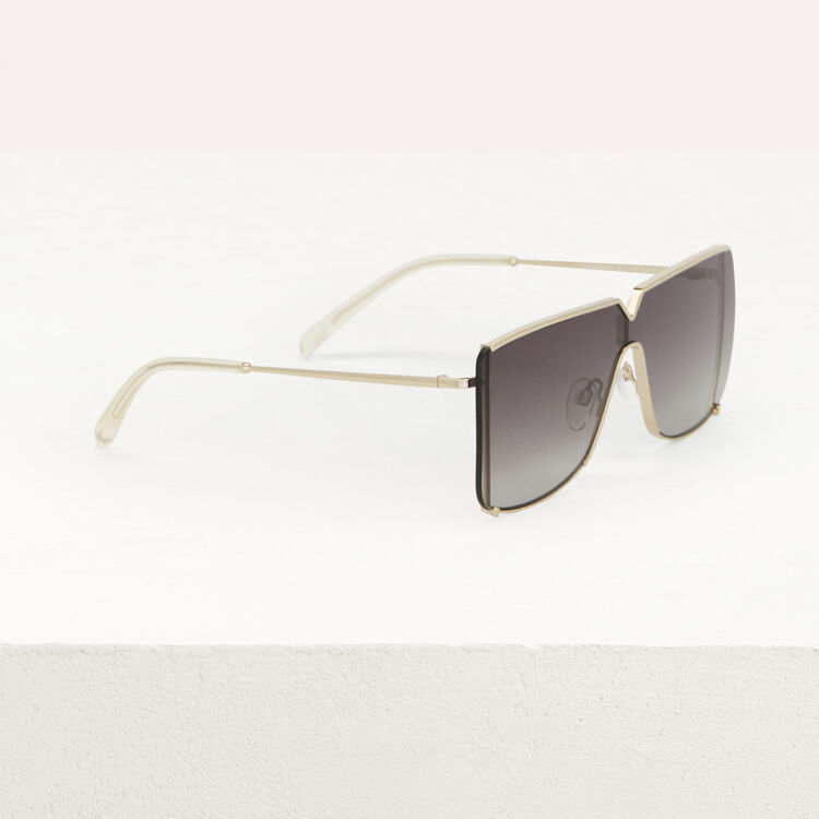 """Mask"" sunglasses in metal : Sunglasses color Multico"