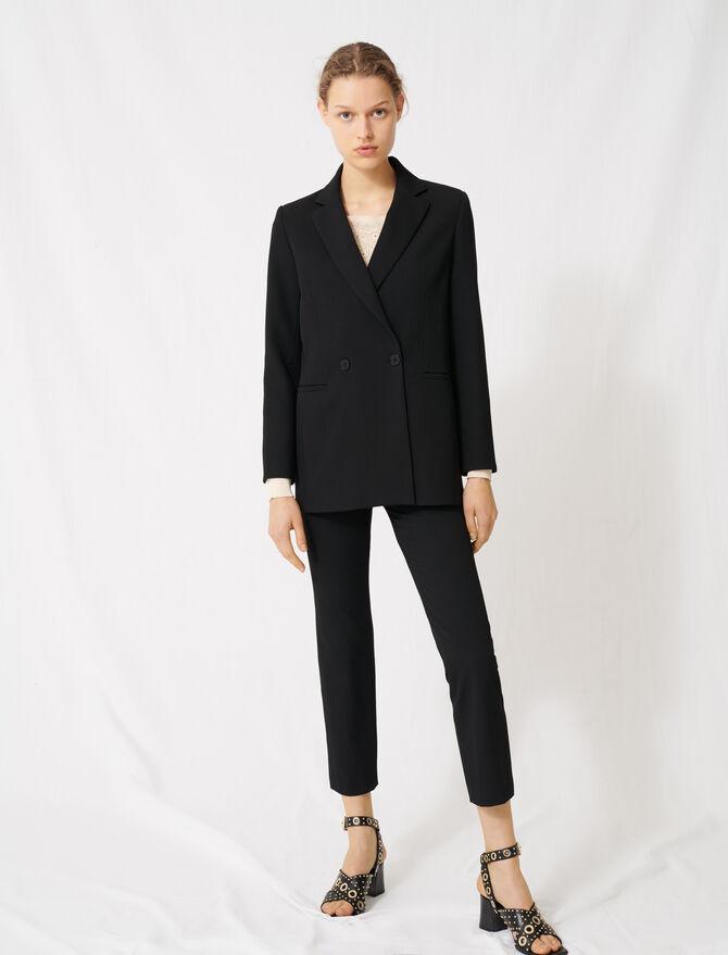 Double-breasted blazer - Coats & Jackets - MAJE