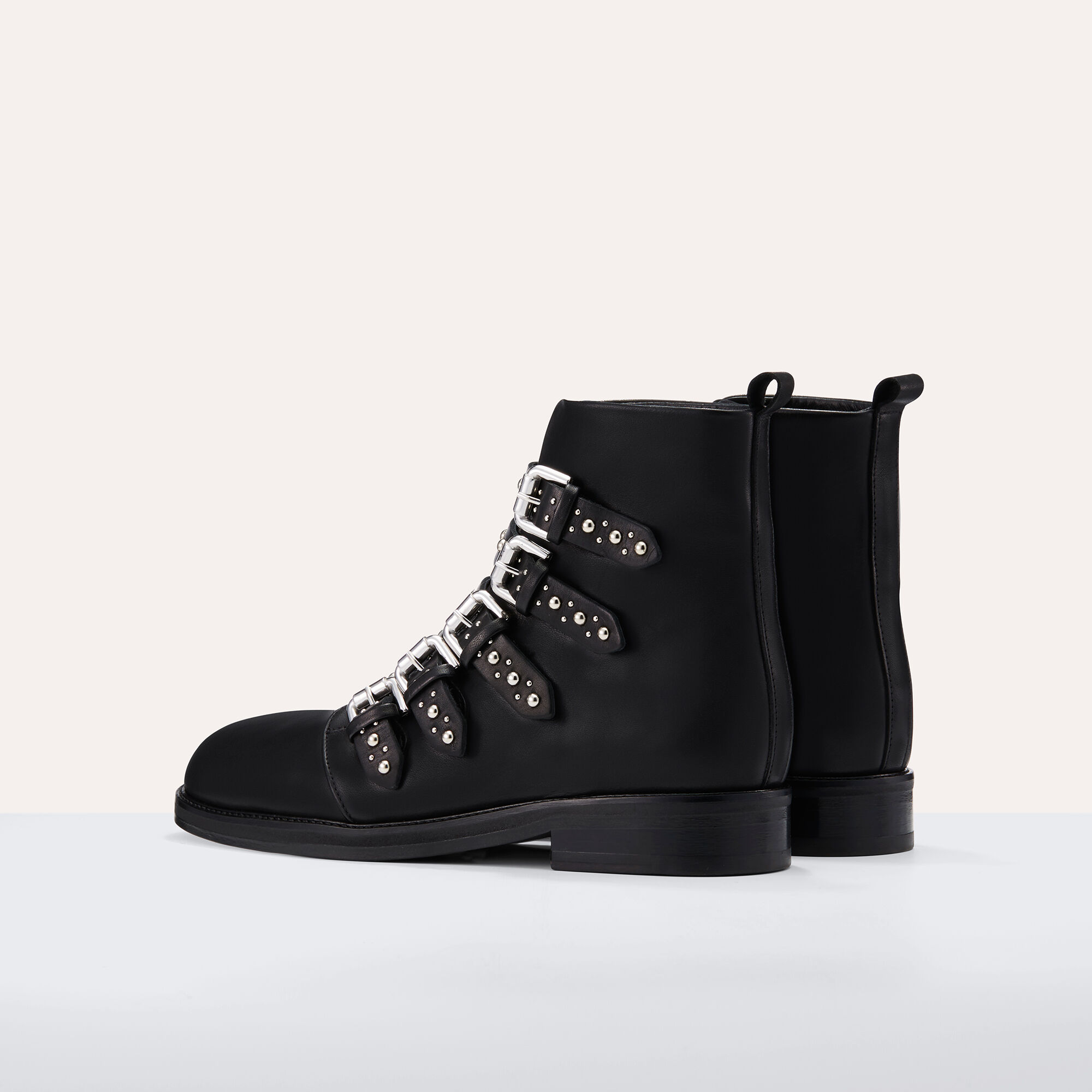 Looking For Outlet Many Kinds Of Maje Leather Ankle Boots Buy Cheap Get To Buy 2018 New How Much FRFsWI