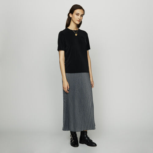 Cupro T-shirt : New Collection color Black 210