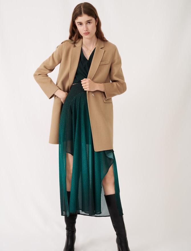 Jacket-style double sided coat - Coats & Jackets - MAJE