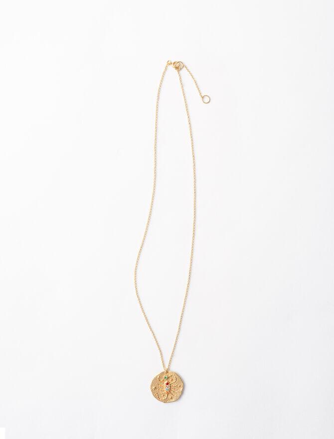 Scorpio Zodiac Sign Necklace Jewelry
