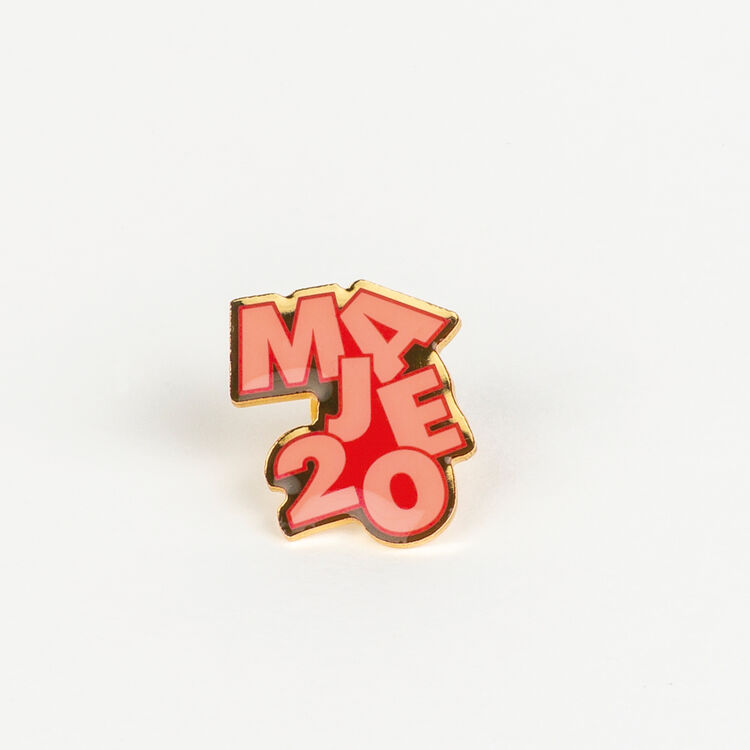 Pin Badges X 20 years : Patches & Pins color Multico