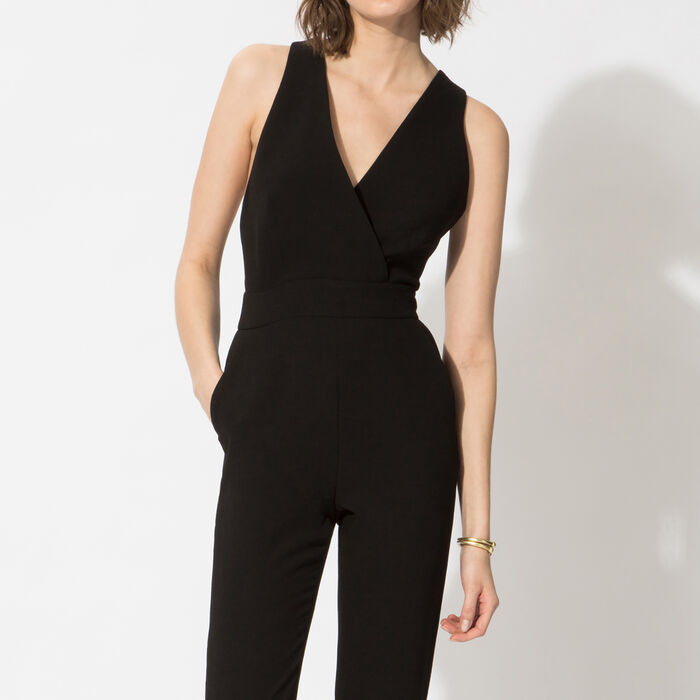 Crepe jumpsuit : Copy of Sale color