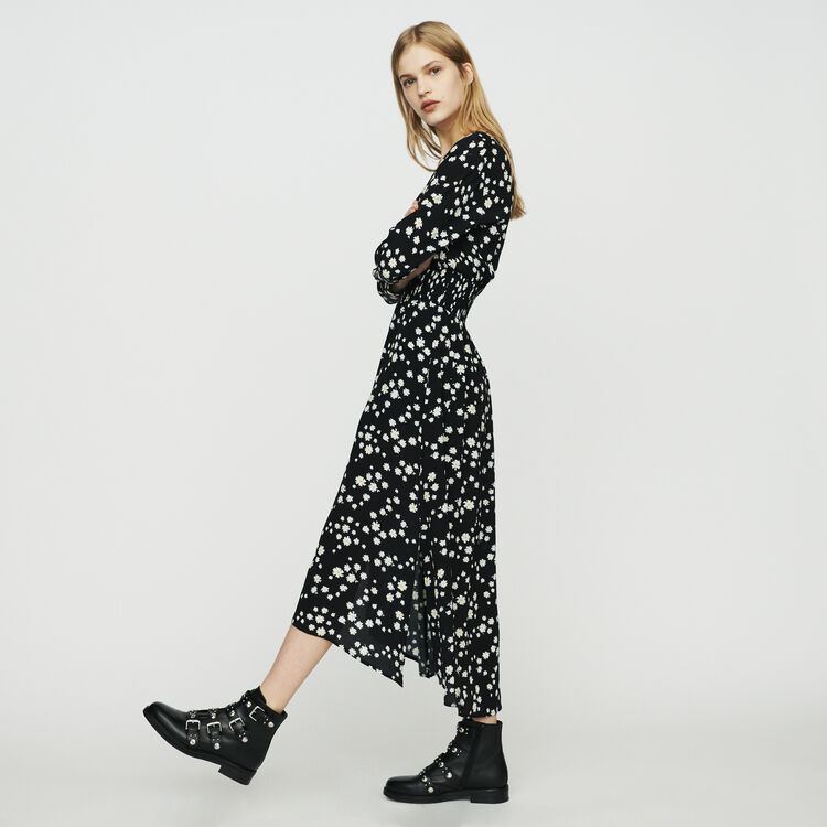40aa00fdd9 Dresses true Long dress with daisy print : Dresses color Printed