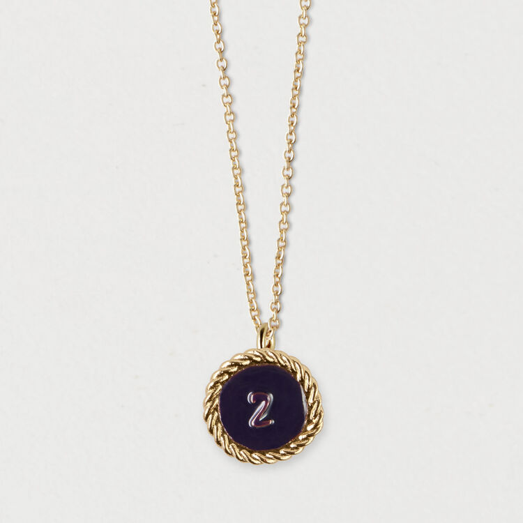Number 2 medallion : Jewelry color GOLD