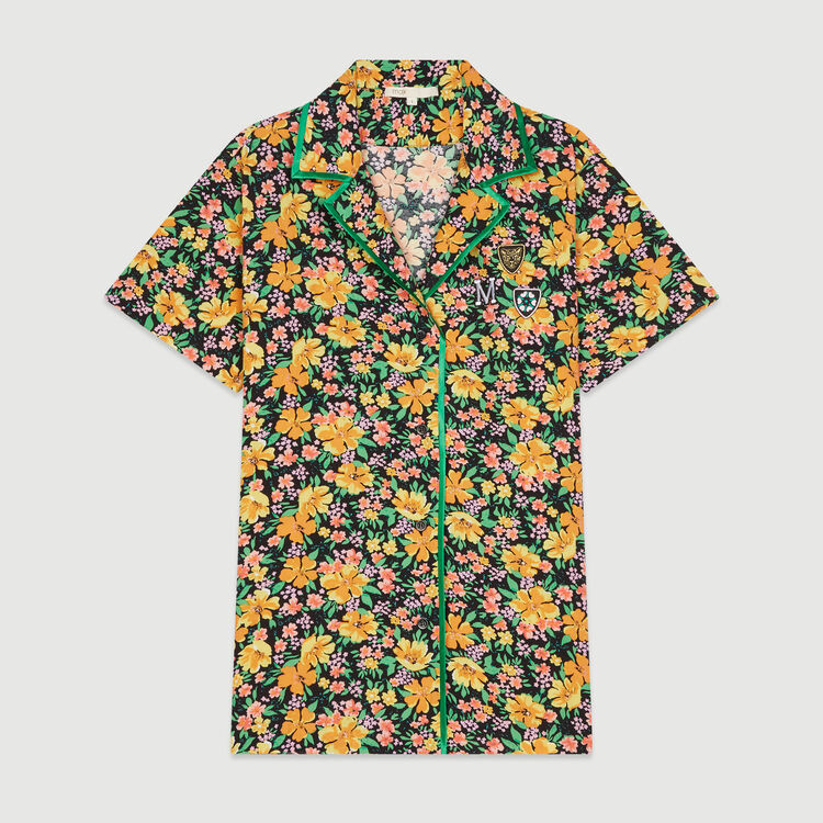 Pajama-style printed shirt : Tops & T-Shirts color Print