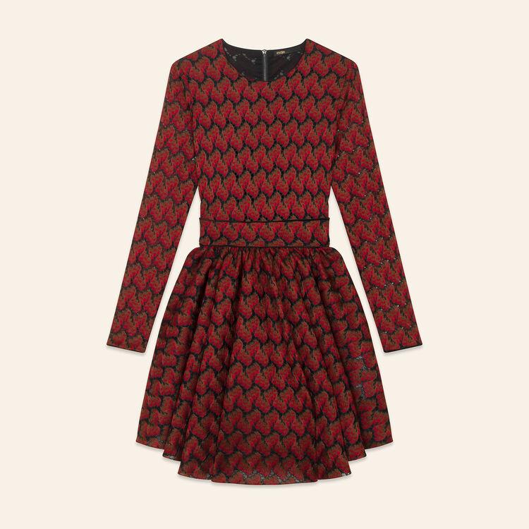 Bonded lace dress : Dresses color PRINTED