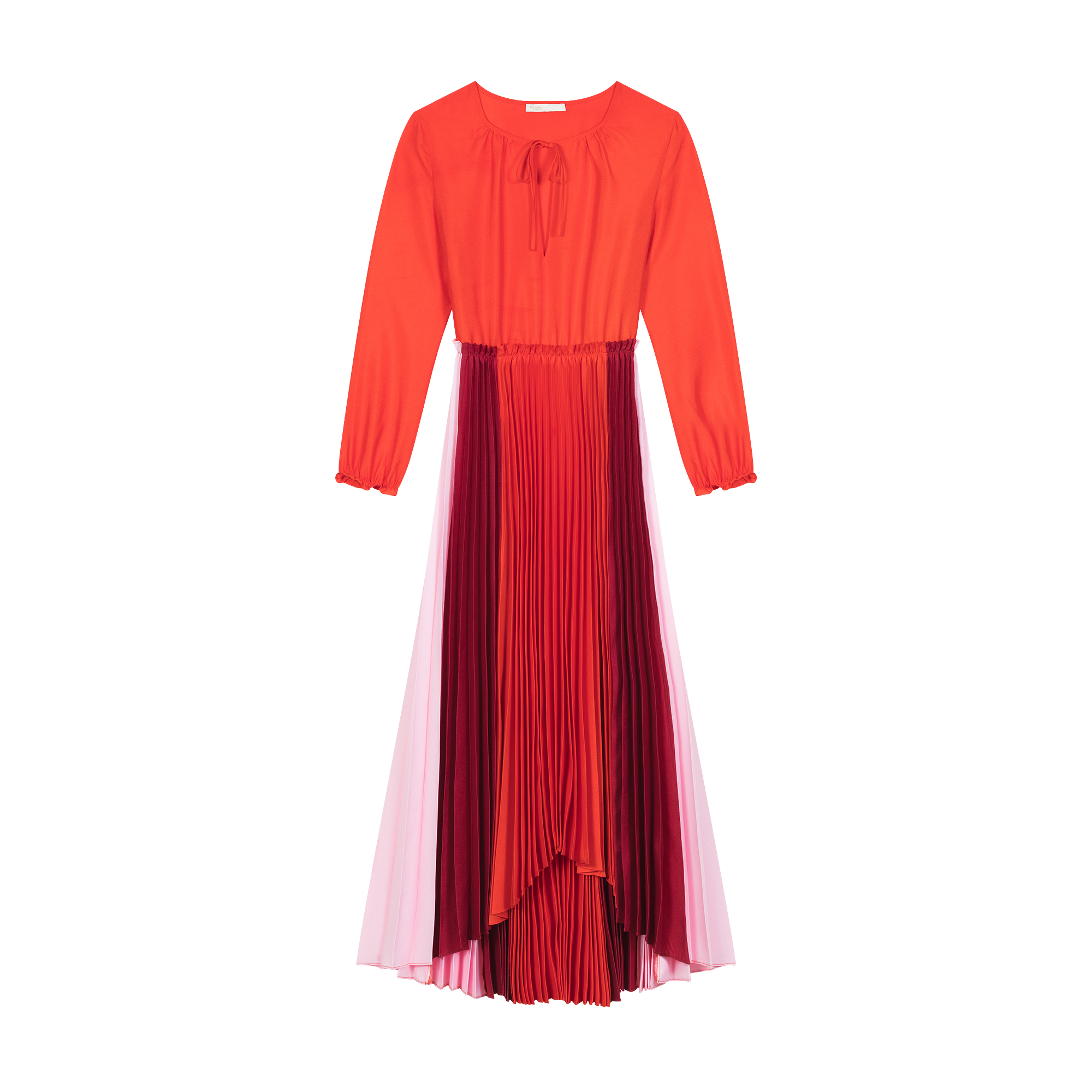 Pleated shirt dress - Dresses - MAJE