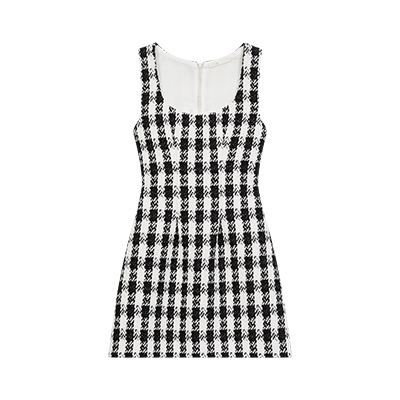 Tweed-style sleeveless dress - Spring Pre-Collection - MAJE
