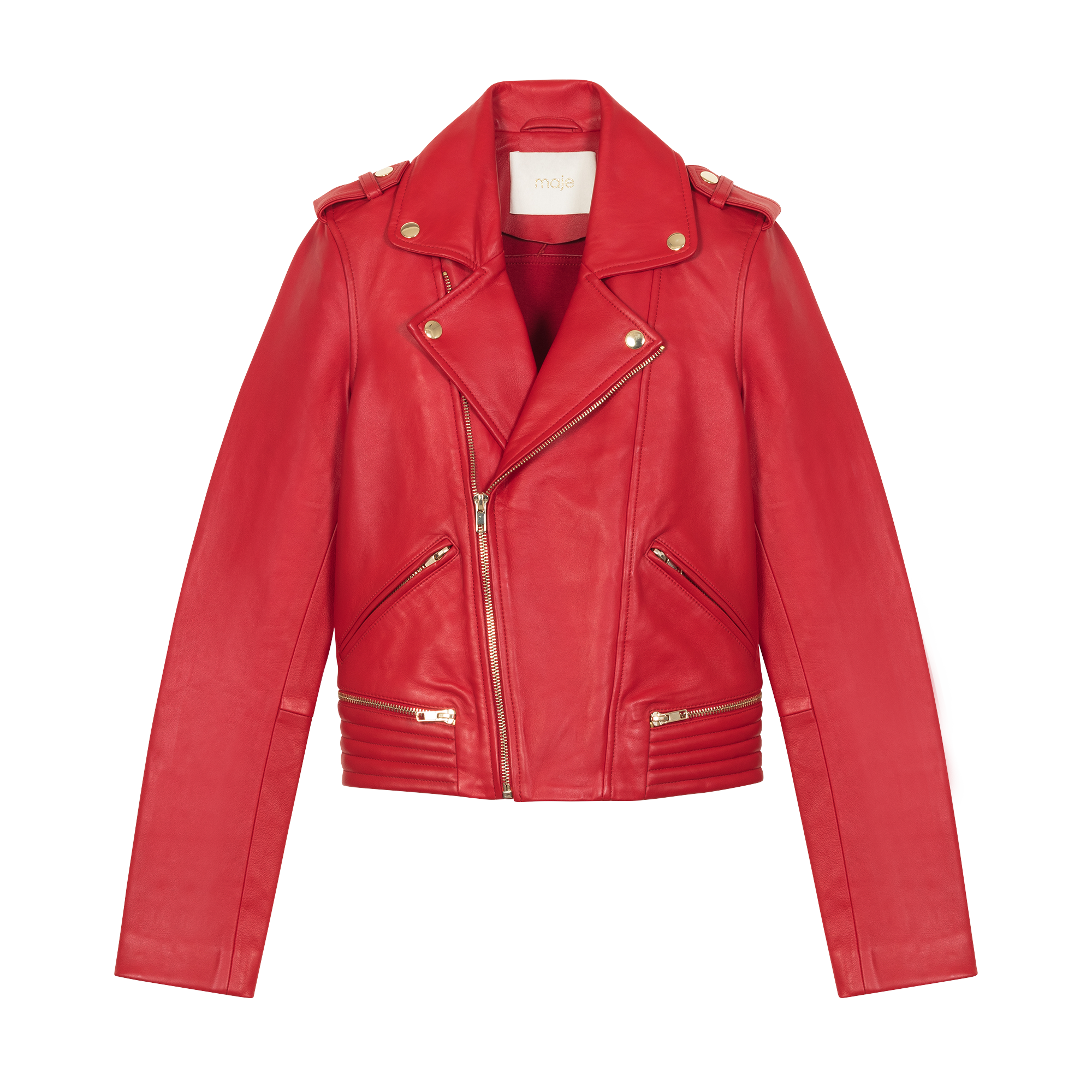Perfecto leather jacket - Coats & Jackets - MAJE